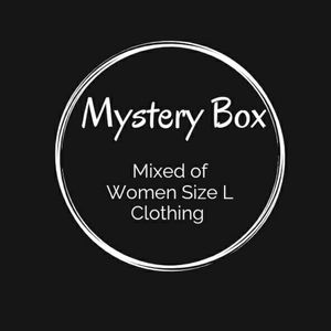 Mystery Box with Mix of Women Clothing Size L